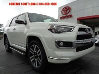 2018 Toyota 4Runner New 2018 Limited 4x4 Navigation Third Seat White New 2018 4Runner Limited 4x4 Navigation Heated Cooled Seats 3rd Seat Blizzard