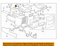 2015-2017 TAHOE YUKON USB /AUDIO PLAYER/ AUX IN /MEMORY CARD RECEPTACLE 13591084