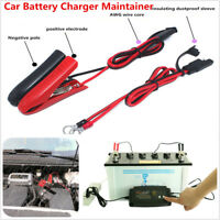 EU Plug 12V 2A/4A/8A Smart Car Battery Charger 7-Stage Maintainer and Desulfator