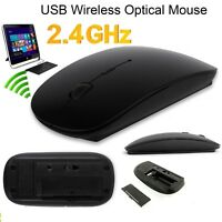 Wireless USB Maus PC Kabellose Mouse Computer Laptop Notebook Funkmaus 2.4GHz DE