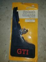 VW GTI Mud Flaps Front Rabbit Volkswagen NOS From VW Dealership No Reserve !