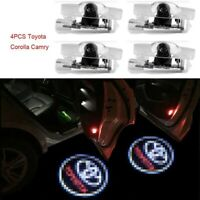 4PCS Replacement LED Door Step Courtesy Shadow Laser Light For Toyota Camry