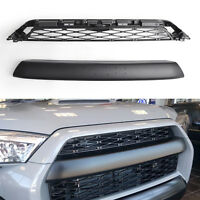 For 2014-2019 Toyota 4Runner TRD PRO 2 Piece Front Bumper Grille Replacement BS1