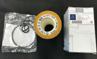 Mercedes Benz A 0001802609 original genuine oil filter cartridge with o rings