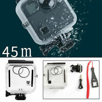 45M Diving Waterproof Housing Case for GoPro Fusion 360° Camera Protective Cover