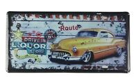 bedroom furnishing ideas Drive in Liquor Store tin sign car plate
