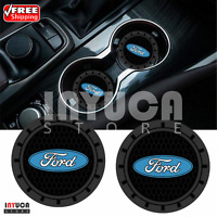 Ford Accessories Car Logo Round Oval Cup Can Holder Insert Coaster Universal