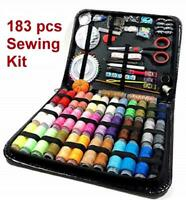 183 pcs home Sewing Supplies kit 38 thread spools for kids student travel adults