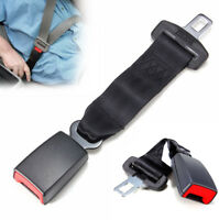 9'' Car Seat Seatbelt Safety Belt Extender Extension Adjustable Buckle Black US