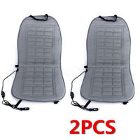 2x Car Seat Back Heater Thickening Heated Pad Cushion Chair Winter Warmer Cover