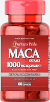 MACA ROOT EXTRACT SUPPORT SEXUAL HEALTH 1000 mg 60 Capsules PURITAN'S PRIDE