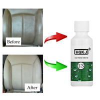 1*20ml Car Care Interior Leather Seat Sofa Polish Wax Panel Dashboard Cleaner