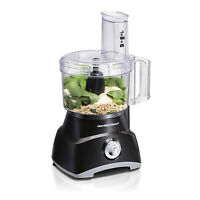Hamilton Beach Food Processor, Slicer and Vegetable Chopper with Compact Storage