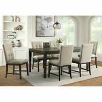 Picket House Furnishings Audrey 7PC Standard Height Dining Set DLY1007DS