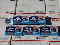 Personal care wet wipes lot of 4