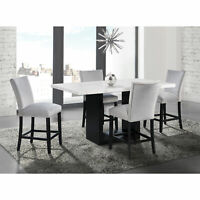 Picket House Furnishings Willow 5PC Counter Height Dining Set CVL300C5PC