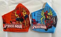 2 pack  Kid's face  mask spiderman Reusable washable Thick fashion