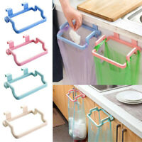 Portable Rack Trash Bag Holder Hanging Trash Rack Towel Hanger Home Supplies Hot