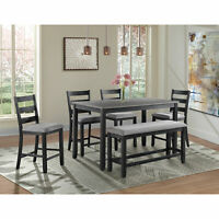 Picket House Furnishings Kona Counter Height 6PC Dining Set DMT3006CS