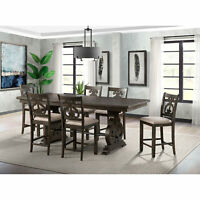 Picket House Furnishings Stanford Counter Height 7PC Dining Set DST195C7PC