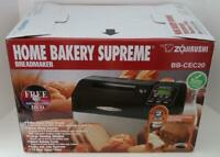 Zojirushi Home Bakery Supreme Bread Maker Rectangle BB-CEC20 NEW NIB FREE SHIP!