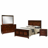 Picket House Furnishings Easton Queen Panel 4PC Bedroom Set LN600QB4PC