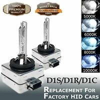 2x D1S 35W HID Xenon Car Headlight Bulbs Lamps For Factory OEM Cars Replacement