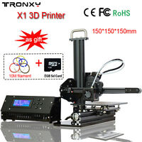 Tronxy X1 3D Printer DIY Kit Upgraded Quality High Precision Desktop Aluminium U
