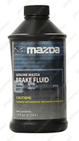 Brake Fluid Genuine Mazda DOT-3 High Temperature 12 fl.oz - 0000-77-130E-10
