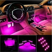 12 LED Car Floor Interior Decorative Atmosphere Light Charge Accessories L