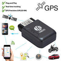 Truck Car OBDII OBD2 Realtime GPS Tracker Tracking Device Motor Vehicle SMS GPRS
