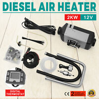 New 2KW Diesel Air Heater Thermostat Parking Heater 12V/24V for Bus Truck Car