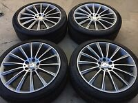 20 NEW AMG OEM S560  S550 CLS 2018-19 MODEL MERCEDES RIMS WHEELS