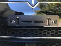 FRONT LICENSE PLATE TAG HOLDER MOUNT ADAPTER BUMPER KIT BRACKET AUTO CAR TRUCK