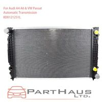 For Audi A4 A6 & Volkswagen VW Passat  Cooling Radiator w/ Automatic Trans