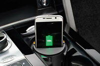 RANGE ROVER WIRELESS PHONE CHARGING CUP HOLDER Qi-ENABLED PHONES OEM # VPLYV0124