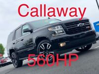 2018 Chevrolet Tahoe Premier Brand New Callaway Supercharged 560HP Tahoe RST 6.2L Performance No Reserve