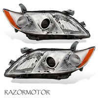 2007-2009 Replacement Projector Headlight Pair For Toyota Camry US Version