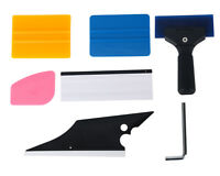 6Pcs Car Window Film Tinting Cleaning Tool Scraper Conqueror Squeegee Kits