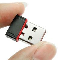 Mini 150Mbps USB Wireless WiFi Lan Network Receiver Card Adapter For Desktop PC