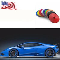 1.4 M BLUE Car Hub Trim Decoration Anti-Collision Strip Wheel Rim Protector Ring