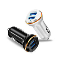 Dual USB Car Charger 3.1A Adapter Fast Charging For Smart Phone iPhone Samsung