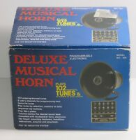 Deluxe Programmable Electronic Musical Car Horn Model No 626 NEVER USED