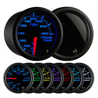 GlowShift - Tinted 7 Color Transmission Temperature Gauge - GS-T712