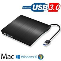USB 3.0 External CD/DVD Drive for Laptop,DVD/CD ROM Burner,for Laptop Desktop PC