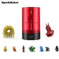 1x Sparkmaker SLA 3D Printer Light-Curing UV Resin DIY Desktop Affordable Item