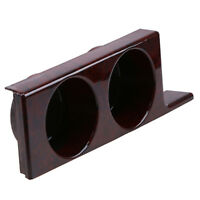Car Truck Insert Water Glass Cup Holder Mahogany for BMW E39 Sedan/Turing 96-04