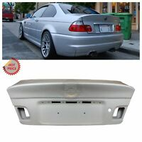 BMW E46 M3 CSL STYLE UNPAINTED TRUNK LID FOR E46 COUPE 2000-2006 325 328 330 M3