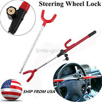 Steering Wheel Security Lock Anti-Theft System Car Truck SUV Auto Safety #s