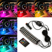 12 LED Car Charge Interior Accessories Atmosphere Lights Floor Decorative Lamp